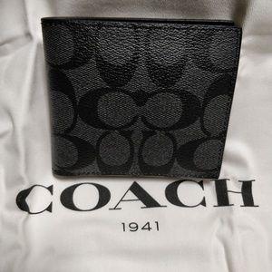 NWT Coach Men's Billfold